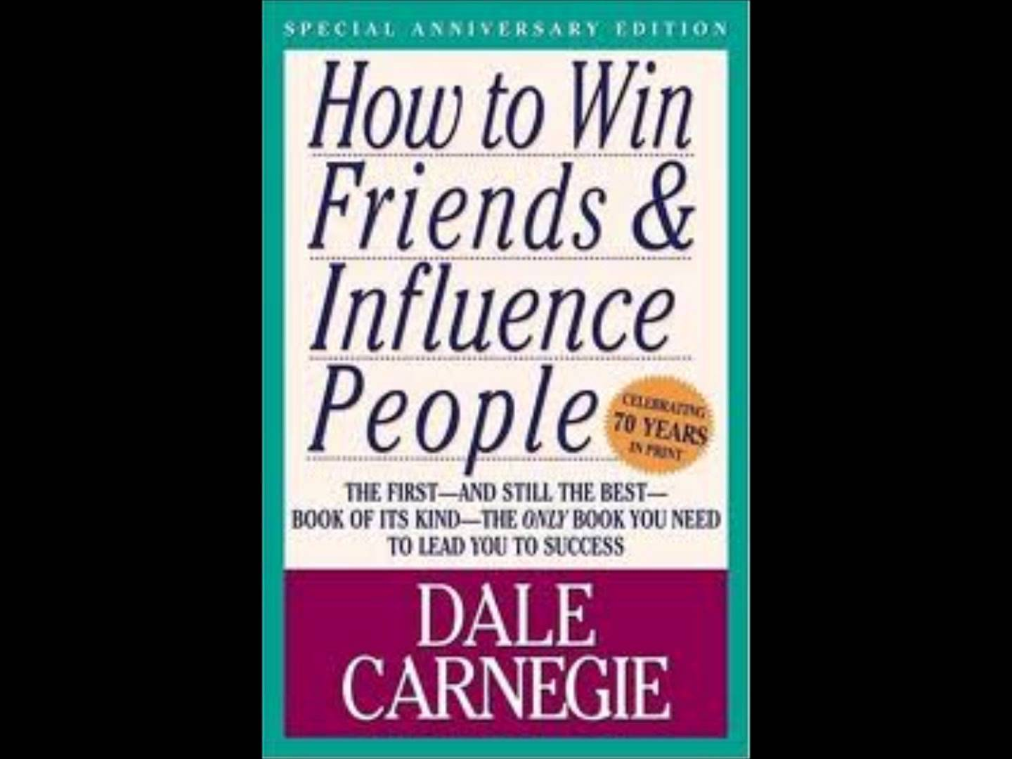 How to win friends and influence people essay