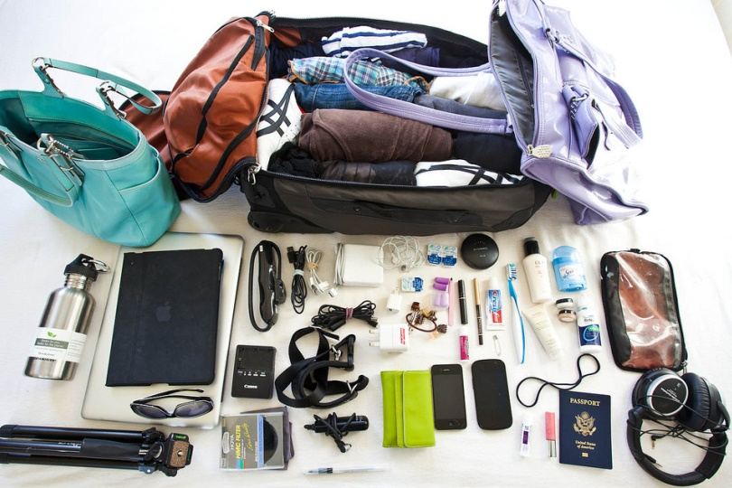 How to Pack Less and Travel Light